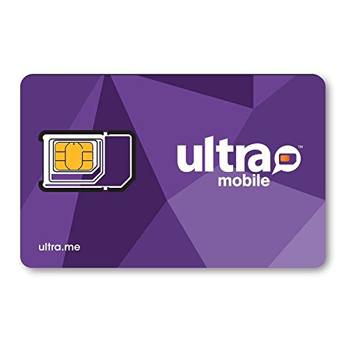 Ultra Mobile Triple Punch SIM card for Prepaid Plans (unfunded)