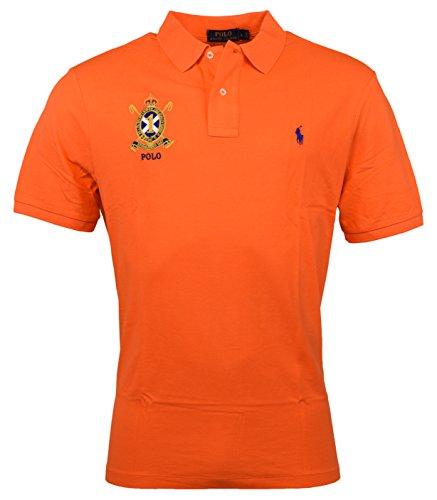 Polo Ralph Lauren Men's Shirt - Lauren Ralph Orange Polo