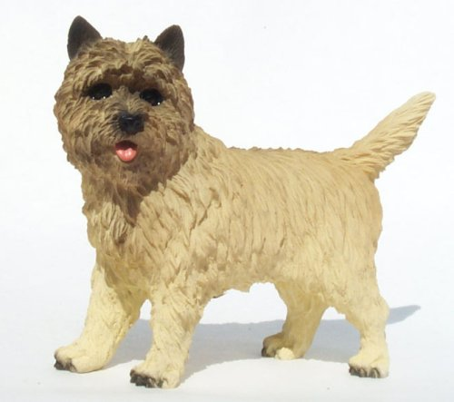 - CAIRN TERRIER Dog NEW FIGURINE Resin TAN Stands NIB DF53B