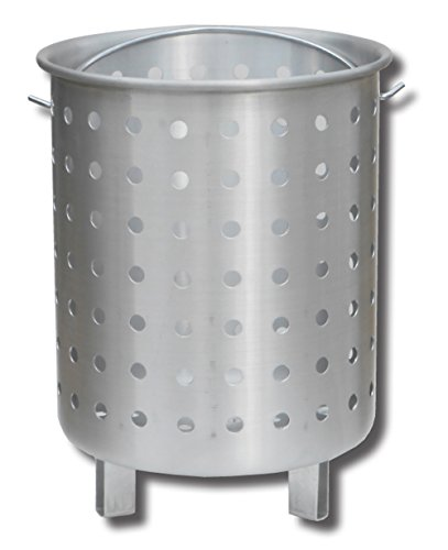 King Kooker 30FB Punched Aluminum Footed Basket, 30 Quart, Multi