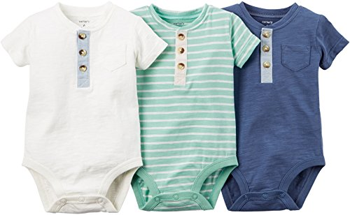 Carters Pack Striped Bodysuits Baby