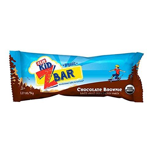 Clif Bar Zbar Organic Chocolate Brownie, 18 Count
