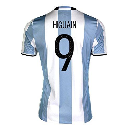 試してみるダイエットレクリエーションHiguain #9 Argentina Home Soccer Jersey Copa America Centenario 2016/サッカーユニフォーム アルゼンチン ホーム用 イグアイン 背番号9 (Medium)