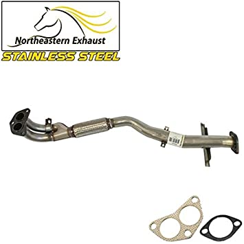 2000-2006 Toyota Tundra Stainless Steel Exhaust Muffler Pipe fits