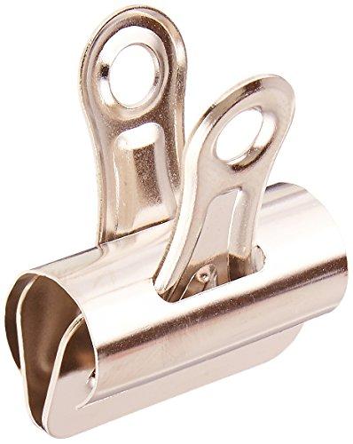 S.P. Richards Company Bulldog Clip, 3/8-Inch Capacity, Size 1, 1-1/4-Inch Wide, 36 per Box, Silver (SPR58500)