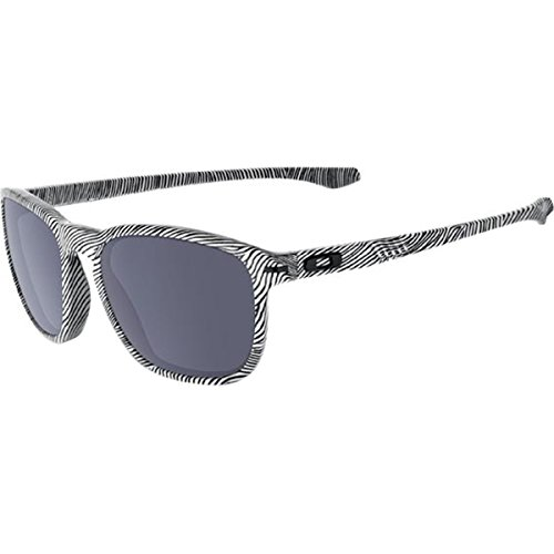 Oakley Men's Enduro White Fingerprint/Grey Sunglasses