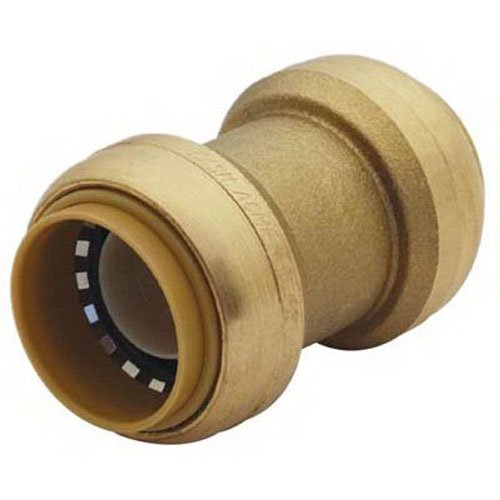 Price comparison product image SharkBite U020LFA Straight Coupling Plumbing Fitting, 1 In, PEX Fittings, Push-to-Connect, Coupler, Copper, CPVC