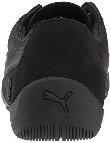 PUMA Men's Ferrari Drift Cat 7 Leather Stripe Sneaker Puma Black-puma Black 100% guaranteed cheap price kTnU8jA0