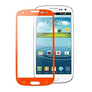 SK Orange Tempered Glass Screen Protector For Samsung Galaxy S3 i9300