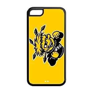 Customize NCAA Basketball Team Wichita State Shockers Back Cover Case for iphone 5C