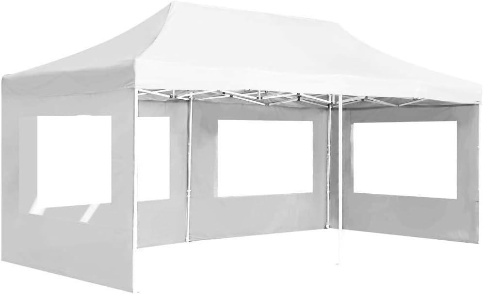vidaXL Carpa Plegable Profesional con Paredes Aluminio Cenador ...