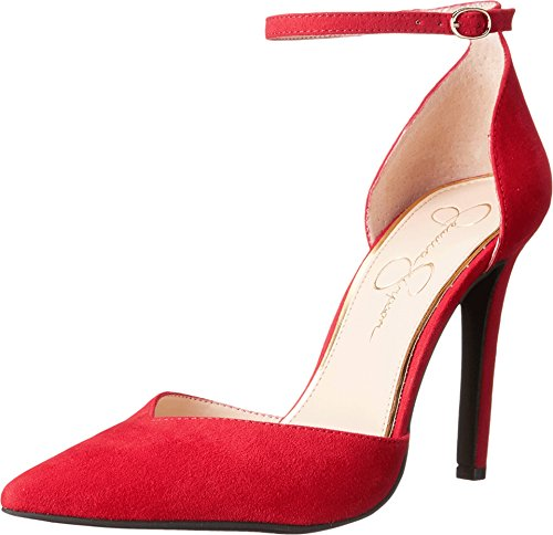 - Jessica Simpson Women's Cirrus Dress-Pump, Lipstick, 9 M US