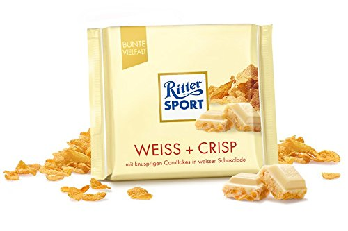 Ritter Sport White Crisp-Pack of 3