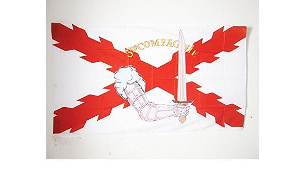 AZ FLAG Bandera de la LEGIÓN Valonia 90x60cm para Palo - Bandera 28 DIVISIÓN DE GRANADERO DE LÉON DEGRELLE 60 x 90 cm: Amazon.es: Jardín