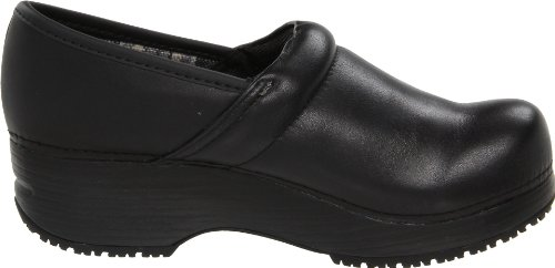 Skechers for Work Women's Clog, Black, 6.5 M US