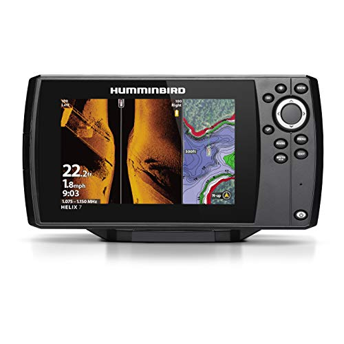 (Hummingbird 410950-1 Helix 7 Fish Finder Chirp MSI GPS G3)