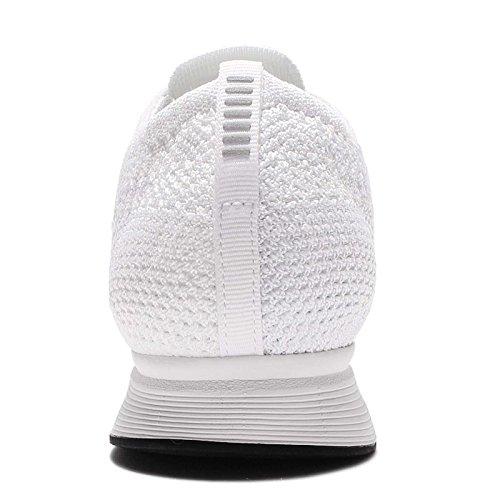 Nike Flyknit Racer Zapatillas de deporte, Unisex adultos white sail pure platinum 100