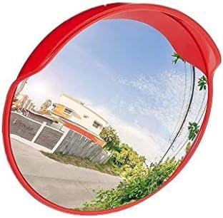 Geng カーブミラー パーク凸面鏡、道はないデフォルメクロスロードトラフィックミラー、屋内と屋外のブラインドスポットミラー