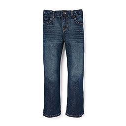The Children\'s Place Husky Boys\' His Bootcut Jeans, Dark Jupiter, 7 Husky
