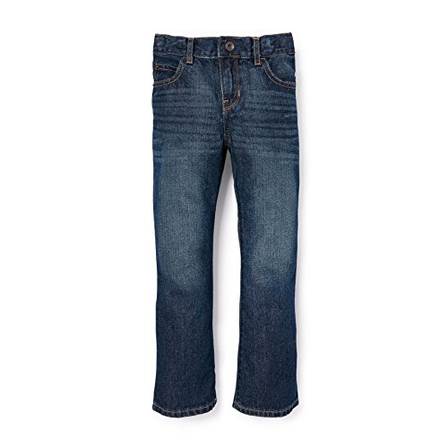 The Children's Place Boys' Bootcut Jeans, Dark Jupiter 9511, 12 Husky by The Children's Place
