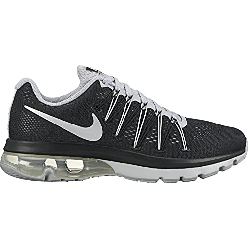 35c60a6603870 Nike Mens Air Max Excellerate 5 Running Shoes Black Metallic Silver Wolf  Grey 852692