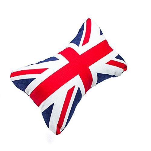 Paileco Car seat neck pillow (1pc, Union Jack, (Cooper Union Jack)