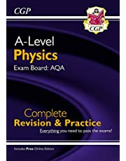 New A-Level Physics: AQA Year 1 & 2 Complete Revision & Practice with Online Edition (CGP A-Level Physics)