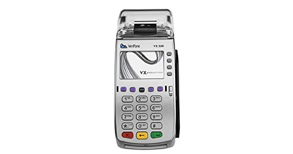 Amazon.com: Verifone VX520 Dual Comm - Tarjeta de crédito ...