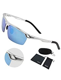Duco Men's Sports Style Polarized Sunglasses Driver Glasses 8550
