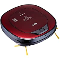 LG Hom-Bot Square Robotic Vacuum quietly cleans every corner of your home (VR65502LV)