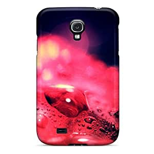 Defender Case For Galaxy S4, Red Drops Pattern