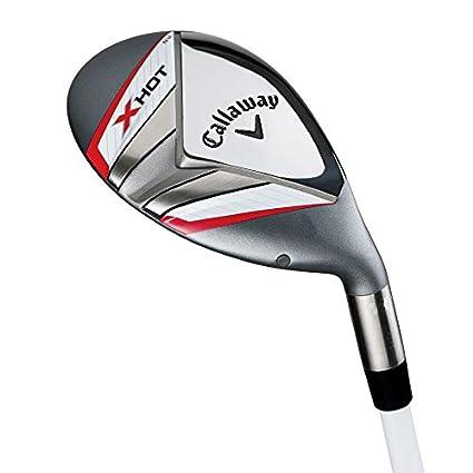 Palos de Golf Callaway X-HOT 25 ° 5H Hybrid/Rescue Madera ...