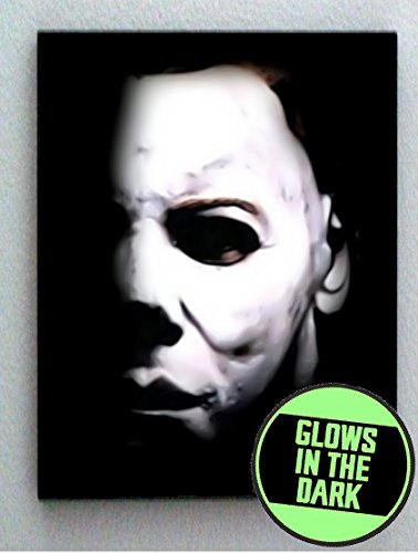 Michael Myers Halloween Glow In The Dark Framed Cool Art Movie Mini Poster