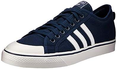 adidas Originals Nizza Shoes 5.5 B(M) US Women / 4.5 D(M) US Collegiate Navy FTWR White Crystal White
