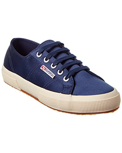 Superga Women's 2750 Satin Classic Sneakers - Navy (Large Image)