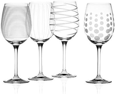 Disfrute de vino con tus amigos con estos Quirky copas de vino,Capacidad: 473ml (245fl oz),Hecho d