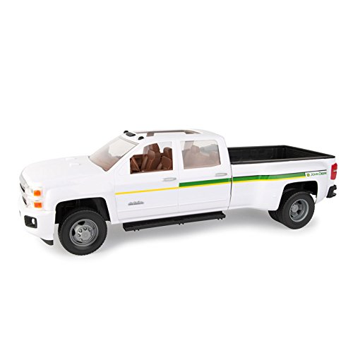 1/16 BIG FARM John Deere 3500 Chevy Dually Pickup (Ertl Toy Trucks)