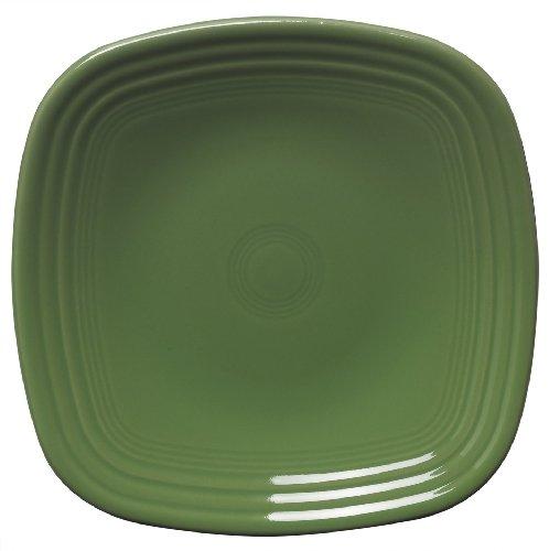 Fiesta 7-3/8-Inch Square Salad Plate, Shamrock