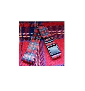 Tartan Luggage Strap Suitcase 5 FOOT Adjustable Bag ROYAL STEWART Scotland UK