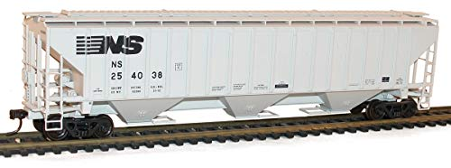 Accurail ACU6528 HO KIT PS-4750 3-Bay Covered Hopper, NS/Modern
