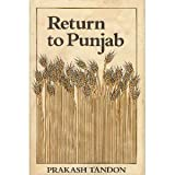 Return to Punjab, Prakash Tandon, 0520039904