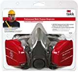 3M 62023HA1-C Professional Multi-Purpose Respirator - Quantity 4
