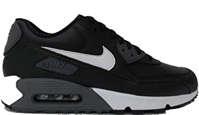 NIKE Air Max 90 Essential Mens Trainers BlackWhiteGrey