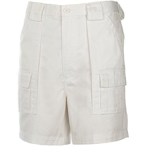 (Weekender® 6 Pocket Trader Shorts WHITE 34W)