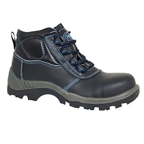 Paredes sp5019ne44acero–Zapatos de seguridad S3talla 44NEGRO/AZUL
