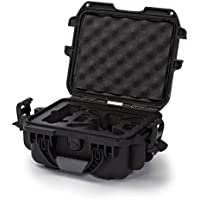 Nanuk 905 Waterproof Hard Drone Case with Custom Foam Insert for DJI Spark – Black