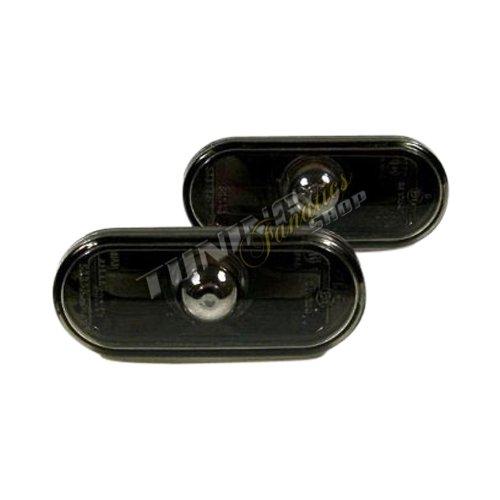1444008/ /Transparente Cristal intermitente Negro Juego de intermitentes laterales