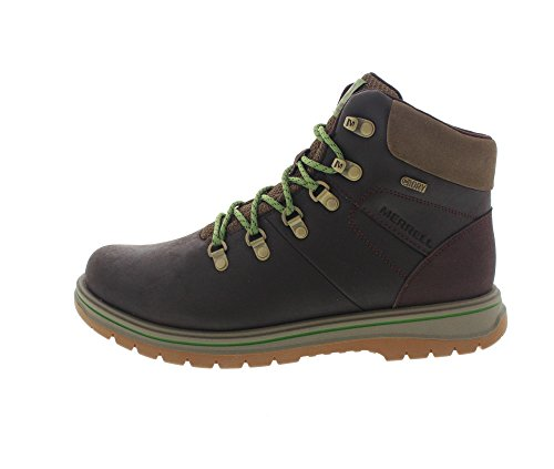 MERRELL Boots - BOUNDER MID THERMO WTPF - espresso
