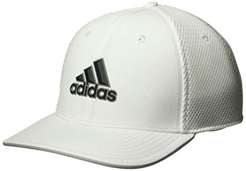 adidas Golf Men's A-Stretch Tour Hat, White/White, Large/X-Large