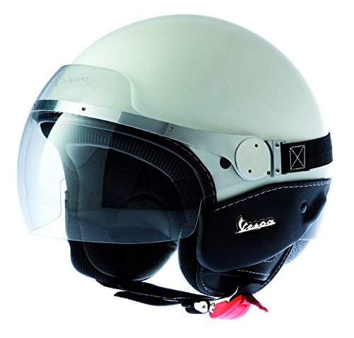 Vespa GTS Replica White Helmet Medium